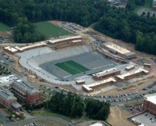 Charlotte Brings Home 2013 ACEC NC Honors Award for UNC Charlotte Stadium