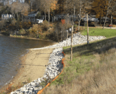 Shoreline Stabilization Project Receives ACEC-OH Award