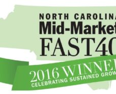 S&ME Named to 2016 North Carolina Mid-Market Fast 40