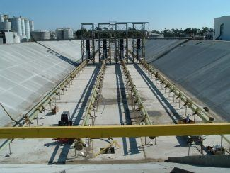 ADM Industrial Wastewater Aeration Basin