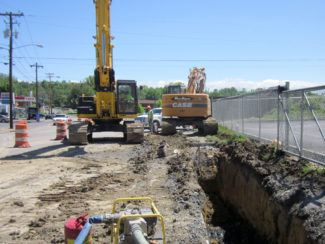 Broadway, Main Street and State of Franklin Road Sewer Improvements