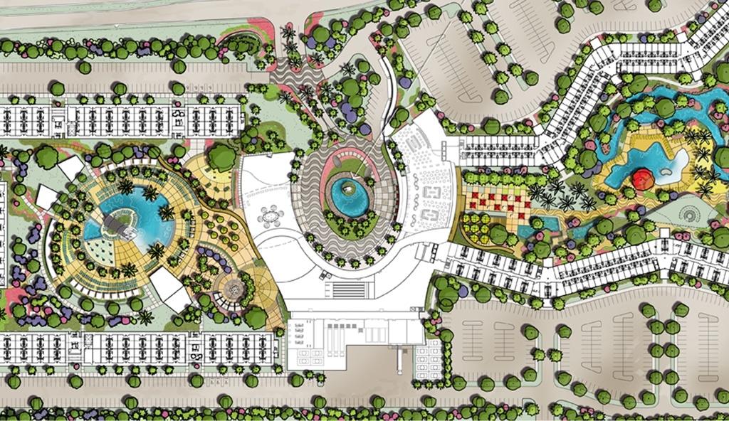Cabana Bay Resort Map on