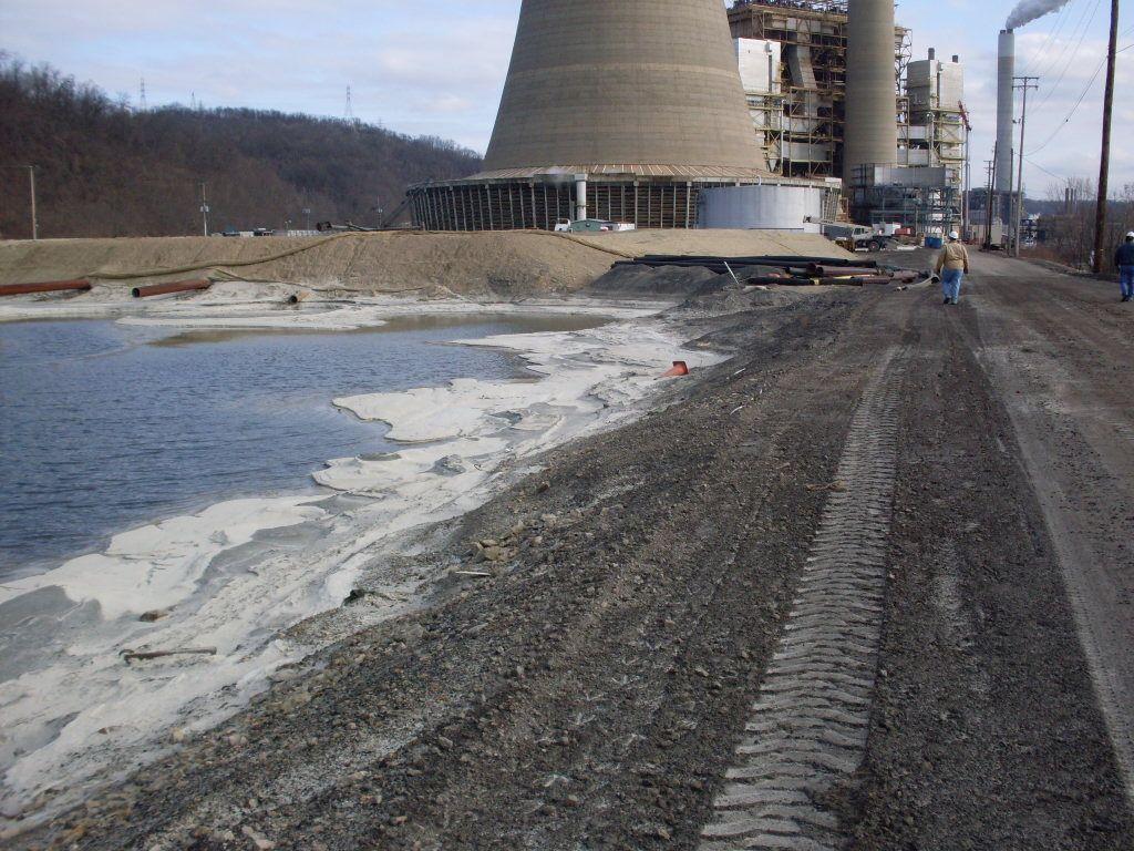 Cardinal fly ash reservoir 2 dam raising s me for Design of ash pond