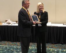 Ken Barry Receives ASCE Distinguished Service Award