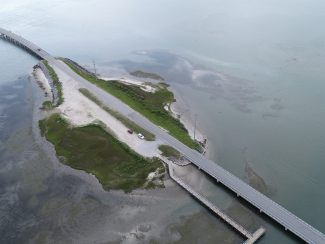 NCDOT BR 73 over the Straits at Harkers Island on SR 1535